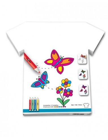 """Tee-Shirt """"Bouquet de papillons"""""""