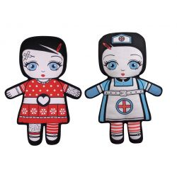 Flip Doll - Emma & Nurse Olga