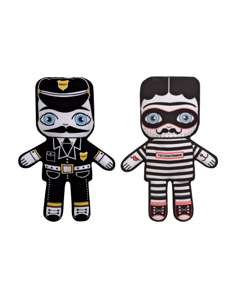 Flip Doll - Agent 001 and Vinny