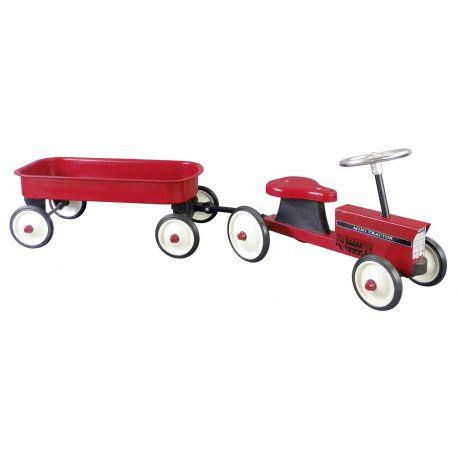Porteur Tracteur avec remorque