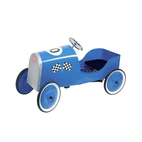 "Voiture de course ""Grand Racer"" bleue"