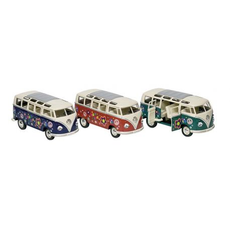 "Bus Volkswagen T1 (1962) ""Peace & love"" 1:24"