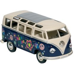 "Bus Volkswagen T1 (1962) ""Peace & love"" 1:24 (17,8cm)"