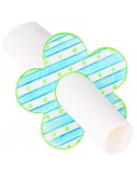 Ronds de serviettes en bois à colorier