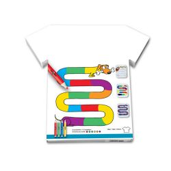 "Tee-Shirt ""Teckel multicolor"""