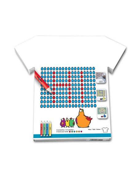 """Tee-Shirt """"Jeux de Poule"""""""