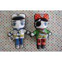 Flip Doll - Captain Bob & Pirate Billy